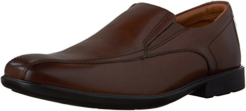 c6e39aea Clarks Men's Gosworth Step Walnut Leather Loafer 10.5 D (M) - Buy ...