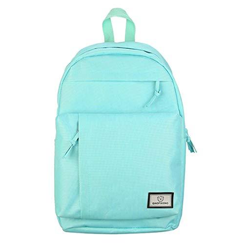 ebd022dda SUKEQ Fashion Laptop Backpack School Backpack Lightweight Canvas Bookbags College  Bags Daypack High School Rucksack for