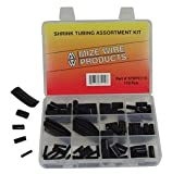 HARDWARE 12078 Black Heat Shrink Tubing Assortment Kit