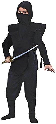Black Ninja Girl Costume (Ninja Complete Child Costume - Medium)