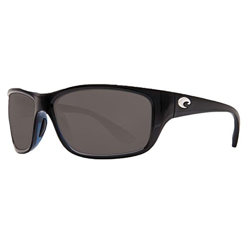 Costa Del Mar Tasman Sea 580P Tasman Sea, Shiny Black Gray, - Del Sunglasses Mar Used Costa
