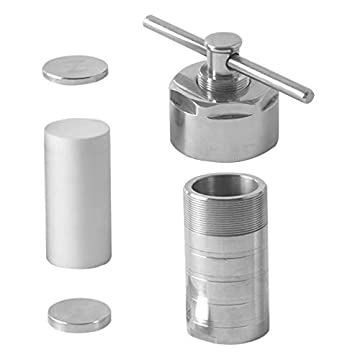 Hydrothermal Synthesis Autoclave Reactor with PTFE lined vessel for lab Customizable 50ml