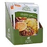 5 Savers Package:Simply Organic Sloppy Joe (12x1.4 Oz)