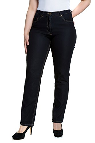 Fit Ulla 93 Jeans Popken Women's Dunkelblau Stretch Straight Regular Blue pIq6Ixr