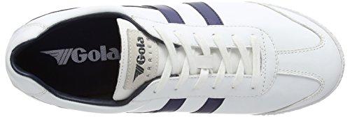 GolaHarrier Leather - Zapatillas De Deporte Para Exterior hombre Blanco - blanco (blanco/Navy)