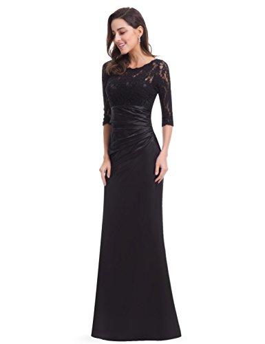 HE09882SB14 Negro Pretty para Vestido Ever mujer Hp6qz5A