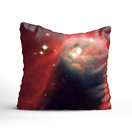 FunnyLife Throw Pillow Covers Unicorn Constellation Decorative Pillowcases (Cushion Chicago Sox White Seat)