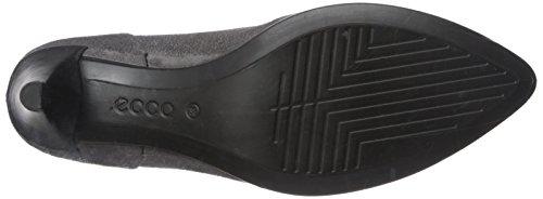 Black Tacco Scarpe Pointy Sleek Grigio Titanium con Donna 45 ECCO Shape IRvYxx