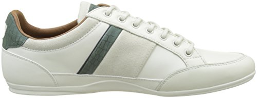 Lacoste Chaymon, Sneaker Uomo Bianco (Wht/Grn)