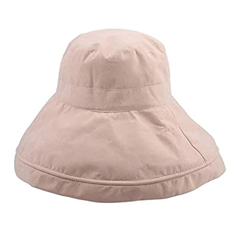 934bd812aebc8 Image Unavailable. Image not available for. Color  Best Quality Hah 2018  Summer Sun Bucket Hat Women ...