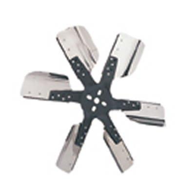 DERALE 17618 Heavy Duty Flex Fan 18'' Dia Reverse Rotation Blades blk Hub