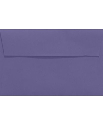 A9 Invitation Envelopes w/Peel & Press (5 3/4 x 8 3/4) - Wisteria Purple (50 Qty.) Photo #2