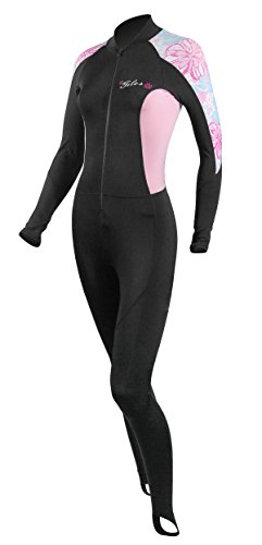 Farmer John Scuba Gear Wetsuits (Tilos Women's 6oz Skin Suit (Pink Flower, M))