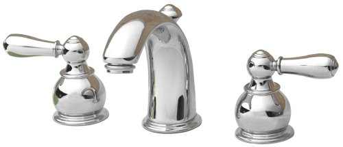 American Standard 7881.732.002 Hampton Two-Lever Handle Widespread Lavatory Faucet with Metal Speed Connect Pop Up Drain, Polished Chrome