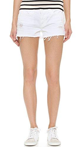 J Brand Women's 1046 Cutoff Shorts, White Vixen, 31 by J Brand Jeans