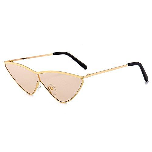 H de gradiente Gafas Sol Ojo de Gato Gafas Tamaño Burenqi Diseño Marca de de tonalidades Pequeño Nuevas Mujeres Lindo Gafas E Señoras triángulo PnWB7Wv