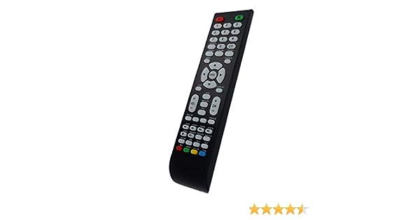 Mando a Distancia para TV Schneider Vesta 1922 PVR, 2222 FHD PVR, 2422 FHD PVR, 3222 PVR: Amazon.es: Electrónica