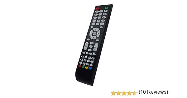 Mando a Distancia para TV INVES LED-3214 HD GR, LED-3914 FHD GR, LED-4315 FHD GR: Amazon.es: Electrónica