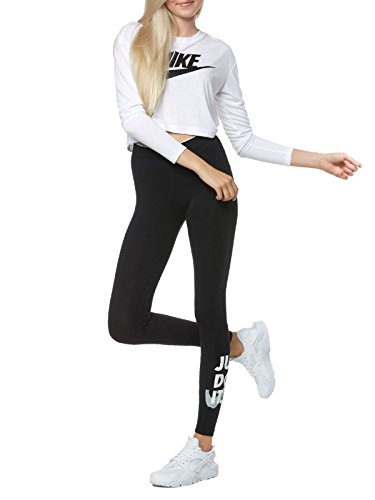Nike W Nsw Lggng Club Jdi Leggins, Mujer Negro (Black/Wolf Grey)