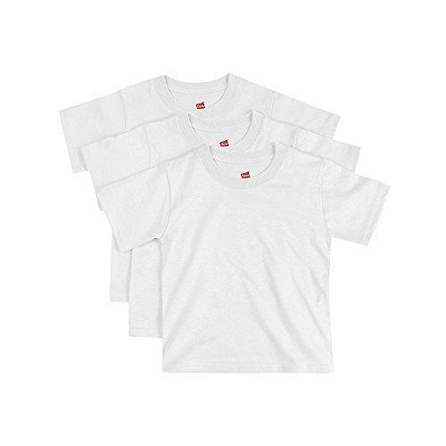 Hanes ComfortSoft Toddler Crewneck T-Shirt 3-Pack