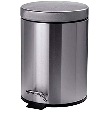 STRAPATS - IKEA - DUST BIN Pedal Dust bin Stainless Steel Easy to Move