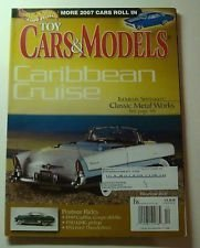 TOY CARS & MODELS December 2006 Volume 9 No. 12 (Magazine. Hot Wheels. Cars&Models. Classic Metal Works. 1949 Cadillac Coupe deVille. 1950 GMC pickup. 1955 Ford Thunderbird. 1955 Packard Caribbean, - Coupe Franklin Mint