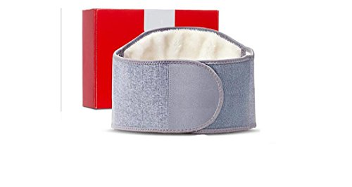 Waist Support Arthritis Kidney Warmer Band Lumbar Back Brace Belt Wrap Fit Women Men