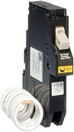 Eaton Cutler Hammer CH Series 1 Single Pole 15 Amp Cafi Afci Combination Type Arc Fault Circuit Breaker Ch115caf