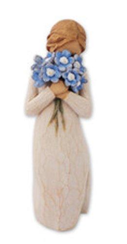 14 opinioni per Willow Tree 26454 Non Dimenticarti di Me Resina, Design di Susan Lordi, 13.5 cm