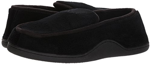 Pictures of ISOTONER Men's Microterry Slip On Slipper A95019BLKLG 4