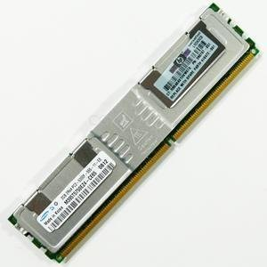 HP 2GB PC2-5300 DDR2-667MHz ECC Fully Buffered CL5 240-Pin Memory Module for HP ProLiant Servers 398707-051 5300 667mhz Cl5 240 Pin