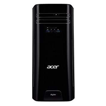 Acer Aspire TC-780 - Ordenador de sobremesa (Inter Core i5-7400, 8GB RAM, 1TB HDD, Nvidia GeForce GT720, Windows 10 Home) Negro: Amazon.es: Informática