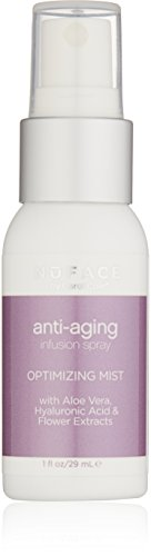 NuFACE Optimizing Mist | Anti-Aging + Hydrating with Aloe Vera, Hyaluronic Acid and Botanical Extracts | 1 fl. oz.