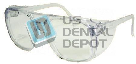 Task Vision Classic Safety Glasses +2.5 Full Lens Magnifier - # Cms25 121945 US Dental Depot