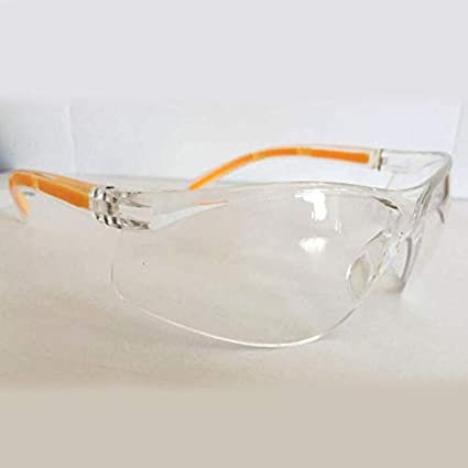 ningbao771 Compact Anti-Impact Factory Lab Outdoor Work Eye Protective Safety Goggles Glasses Anti-Dust Lightweight Spectacles