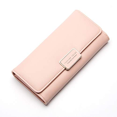 278d2c9f1561 Amazon.com: New Brand Long Wallet Women Fashion Up Leather Wallets ...