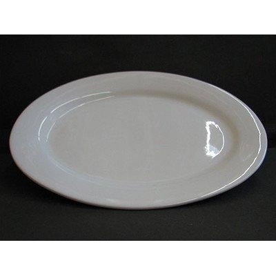 BIA Cordon Bleu 20 -Inch Porcelain Oval Serving Platter, White