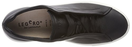 Legero 01 Negro Schwarz Zapatillas Mujer para Lima rxIwrqY8