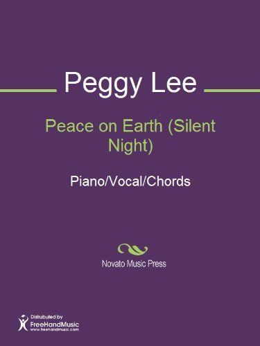 Peace On Earth Silent Night Sheet Music Pianovocalchords