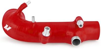 Mishimoto MMHOSE-SUB-INTRD Red Silicone Intercooler Hose for Subaru WRX