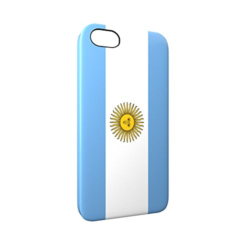 Flag of Argentina Glossy Hard Snap-On Protective iPhone 5 / 5S / SE Case Cover