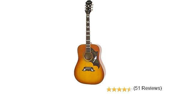 Epiphone Dove PRO - Guitarras electroacústicas, color violinburst ...