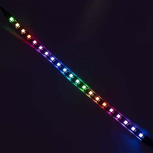 Addressable RGB LED Strip for Pc Computer Case, 5V 35cm Magnetic