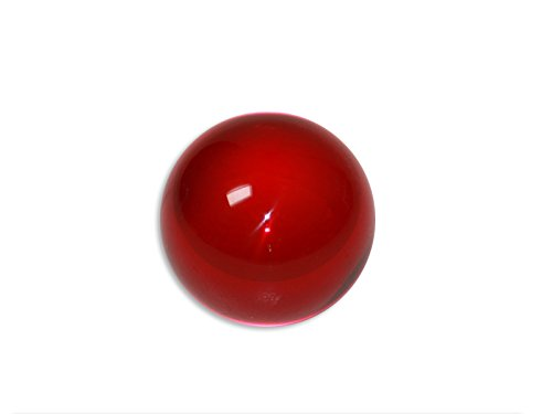 DSJUGGLING Ruby Red Acrylic Contact Juggling Ball - 76mm (3 Inches) by DSJUGGLING (Image #4)