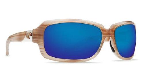 Costa Del Mar Sunglasses - Isabela- Glass / Frame: Morena Lens: Polarized Blue Mirror Wave 400 - Costa Del Isabela Sunglasses Mar