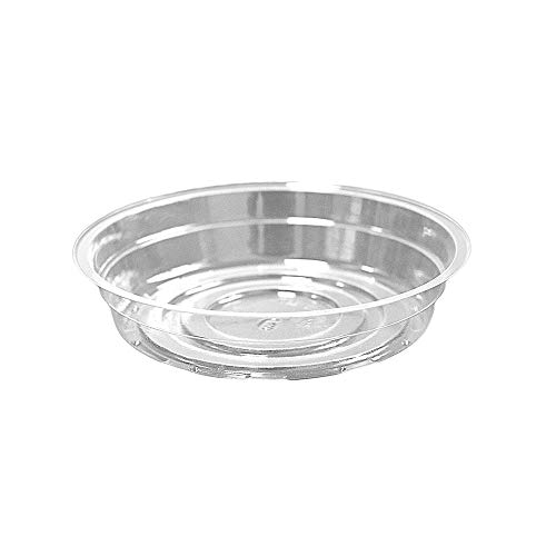 - TRUEDAYS 6 Inch 5 Pack Clear Plant Saucers Flower Pot Tray Excellent for Indoor & Outdoor Plants
