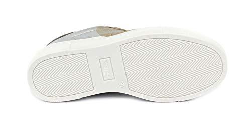 Nicu33 Rubens Grey velvet Sneaker Nira Nuvola Cuore BF44W1