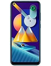 هاتف سامسونج جالكسي M11 ثنائي شرائح الاتصال - بذاكرة داخلية 32 جيجابايت، ذاكرة رام 3 جيجابايت، بتقنية الجيل الرابع ال تي اي - لون أزرق معدني