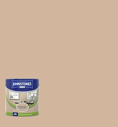 - Johnstone's 306593 Vinyl Silk Emulsion - Brandy Cream,2.5 by Johnstone's