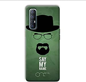 Case Box Say my name back cover for Oppo Reno 3pro